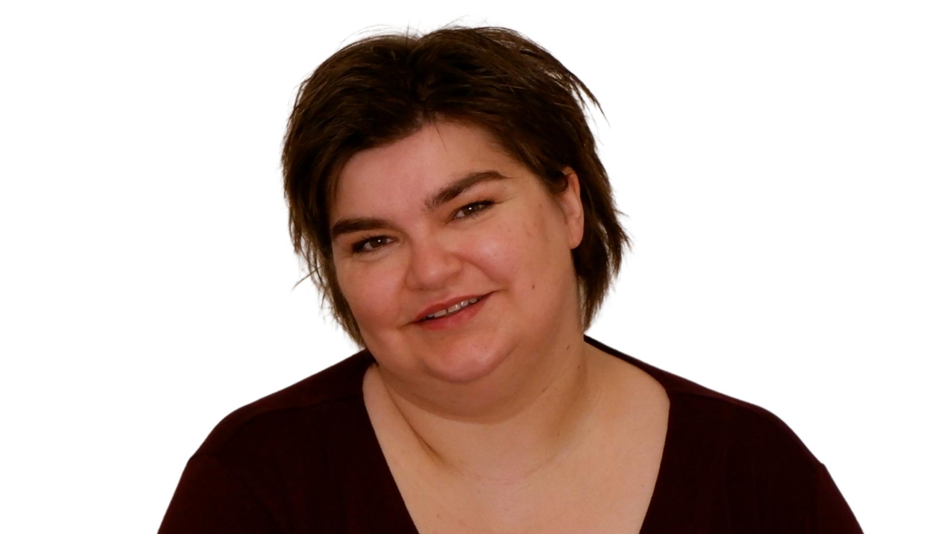 Bettina Luther behandelt auf ungwöhnlihce Weise Kopfschmerzen